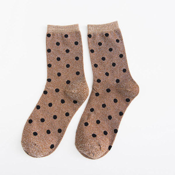 Dot Pattern Ankle Socks