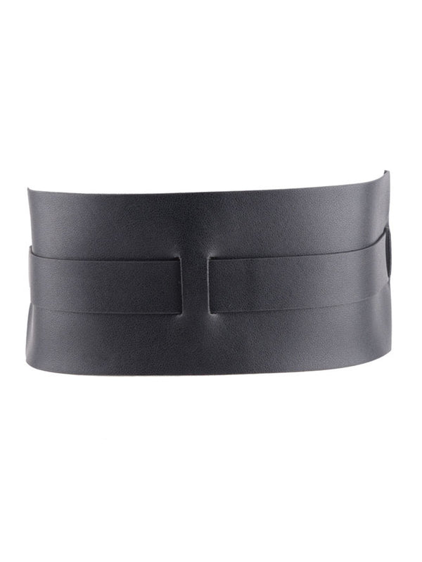 Black Daily PU Belt