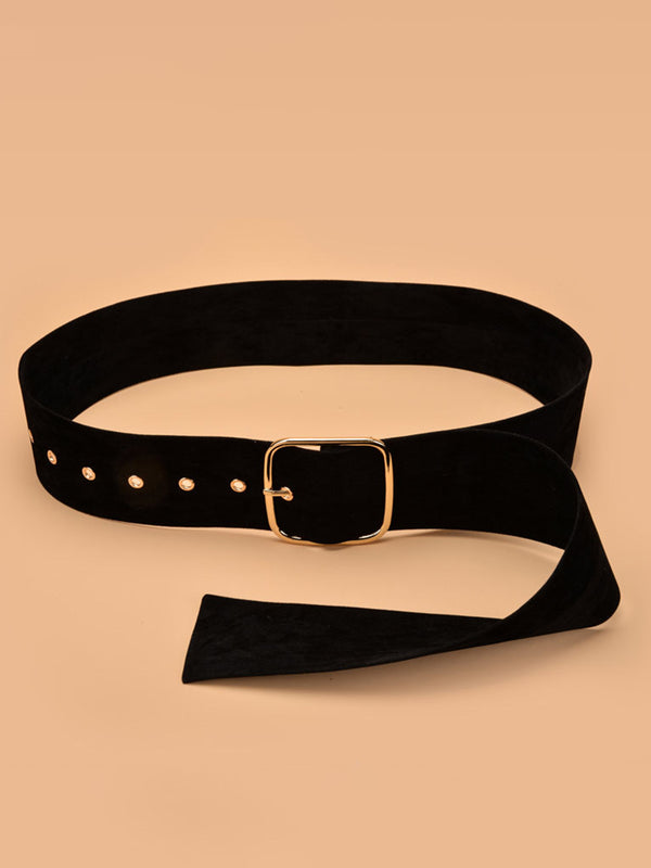 Casual Daily Solid Belts