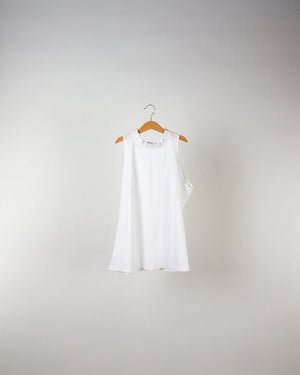 Performance Sleeveless Ruffle Collar