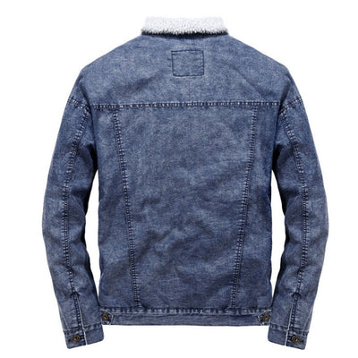 Uradori Wool & Denim Designer Jacket