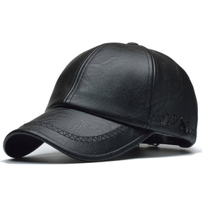 Kaba Leather Baseball Hat