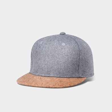 Uru Men's Wool & Cork Snapback