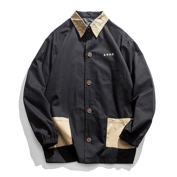 Murabito Men's Retro Jacket