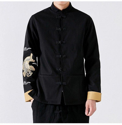Yona Men's Elite Embroidered Robe