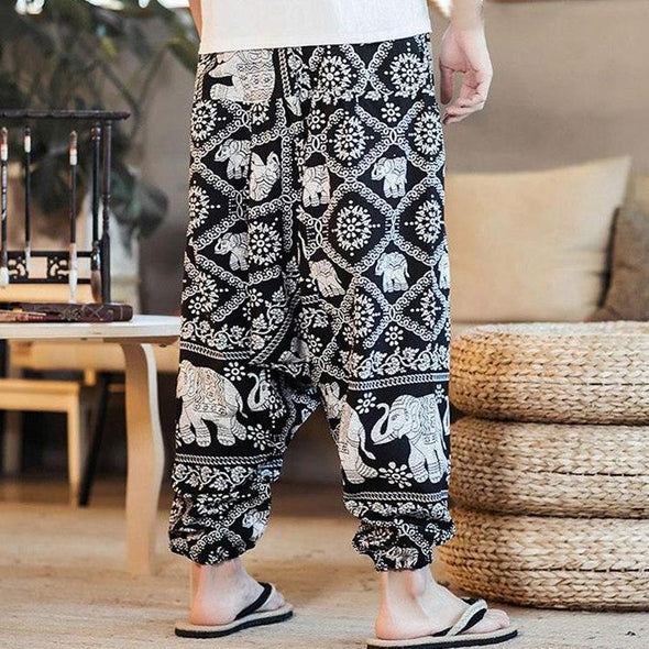 Kuto Men's Harem Pants