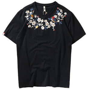 Arufa Men's Embroidered Shirt
