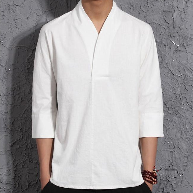 Saishi Authentic Linen Shirt