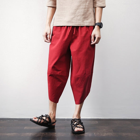 Eiburi Traditional Linen Lounge Pants