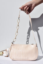 Load image into Gallery viewer, Classic Baguette Bag in Creme