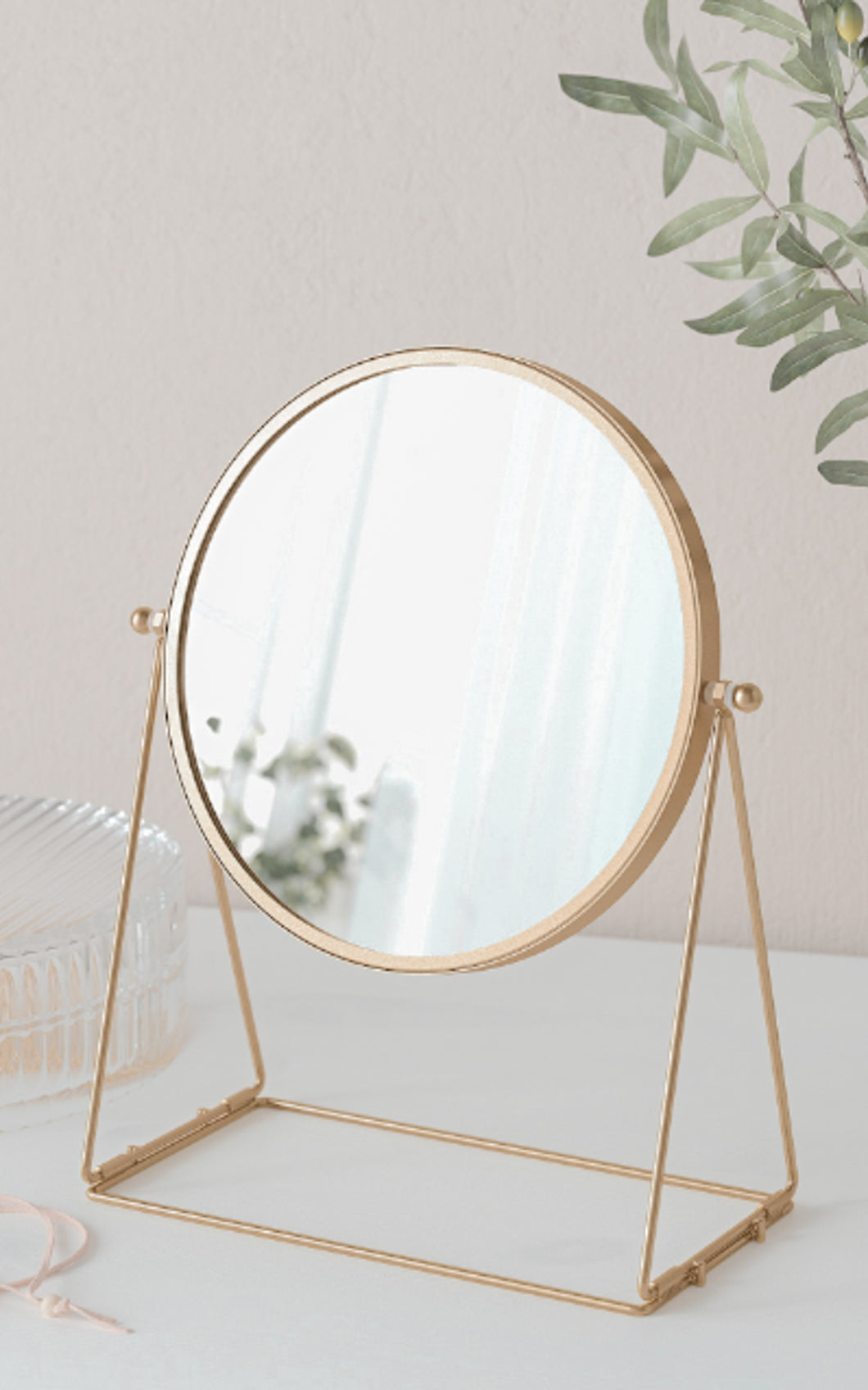 Luna Round Table Mirror