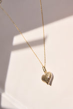 Load image into Gallery viewer, Two-Toned Heart Necklace