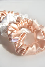 Load image into Gallery viewer, Classic Silk Scrunchie Set of 4