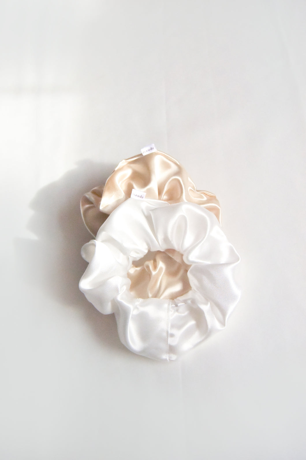 Oversized Silk Scrunchie Set of 2