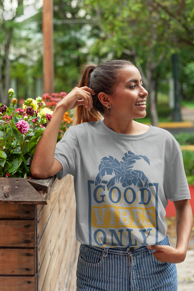 Good Vibes Only T-Shirt - Simply Unique Clothing Co.