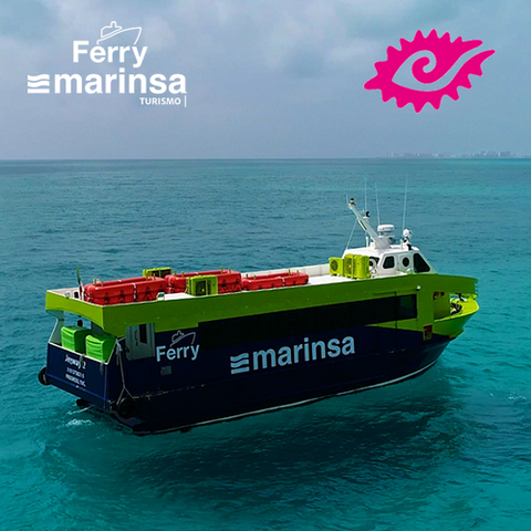 Upgrade BOLETO FERRY -  Isla Mujeres - Playa Tortugas