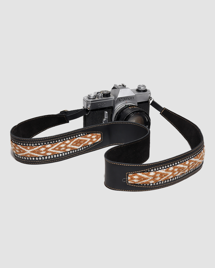 camera strap handwoven siblings army
