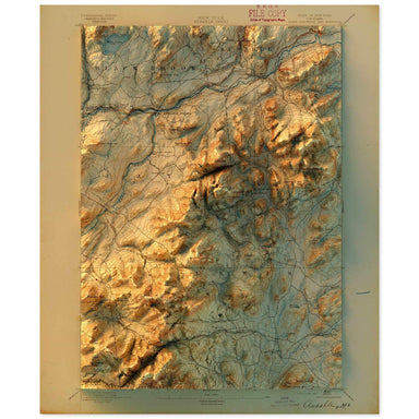 Ausable, New York Map