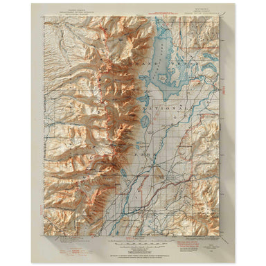 Grand Tetons Map