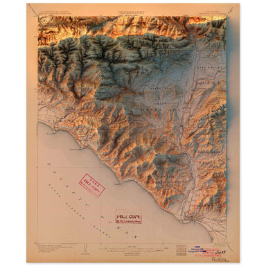 Ventura, California Map