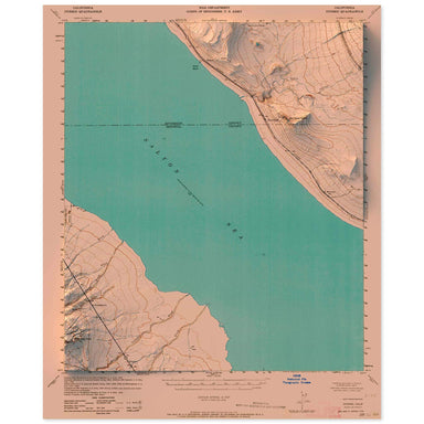 Durmid, California Map