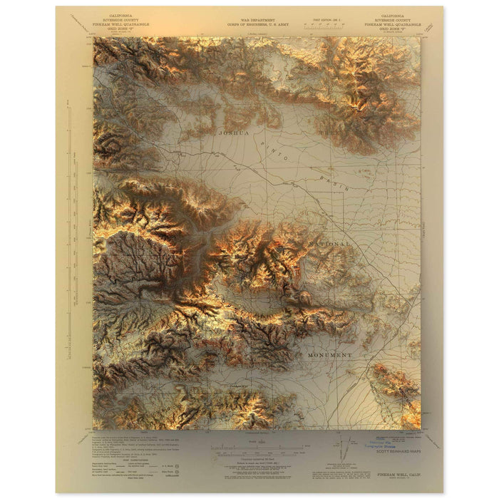 Joshua Tree Map