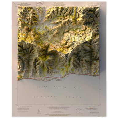 Malibu, California Map