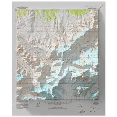 Denali, Alaska Map