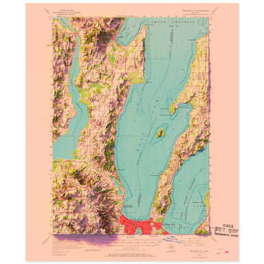 Traverse City, Michigan Map