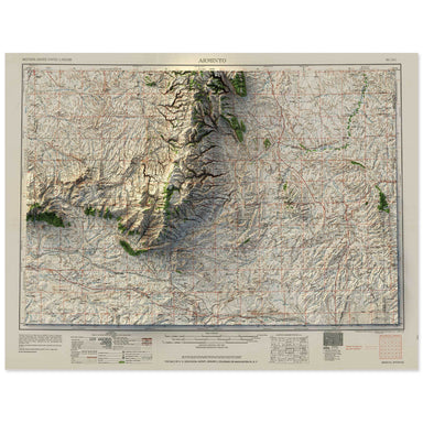 Arminto, Wyoming Map