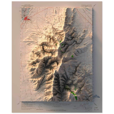 Winnemucca, Nevada Map