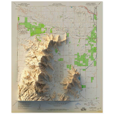 Coachella Valley, California Map