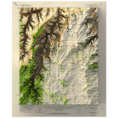 National Canyon, Grand Canyon Map