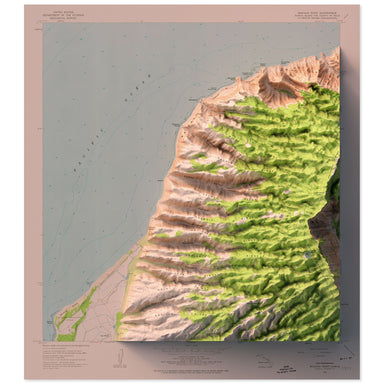 Makaha, Hawaii Map