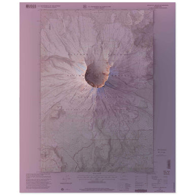 Mt. St. Helens Map