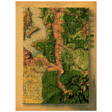 Tacoma, Washington Map