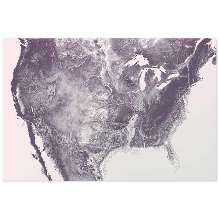 Inverse United States Map