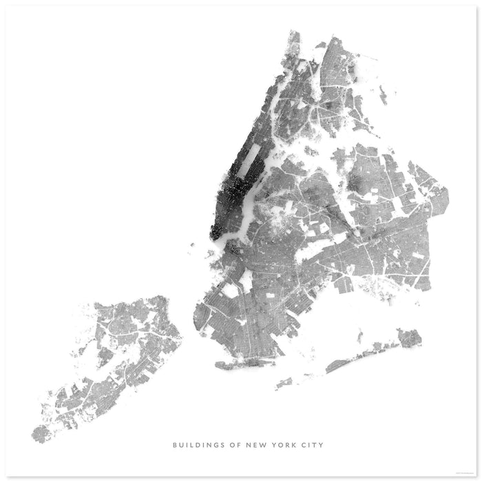 Buildings of New York City Map