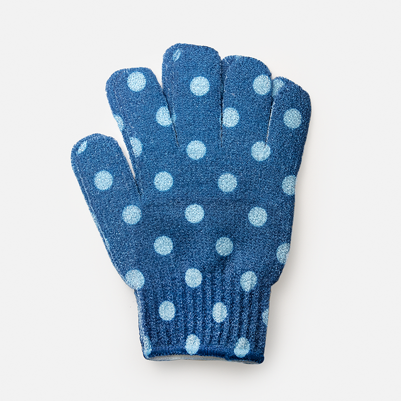 Polka-Dots Bathing Gloves