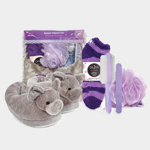 Deluxe Slipper Set - Amazing Elephant