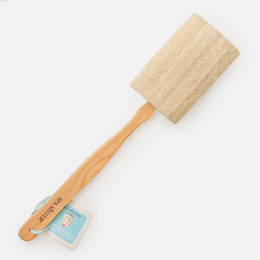 Loofah Bath Brush - Detachable - BathAccessoriesWholesale