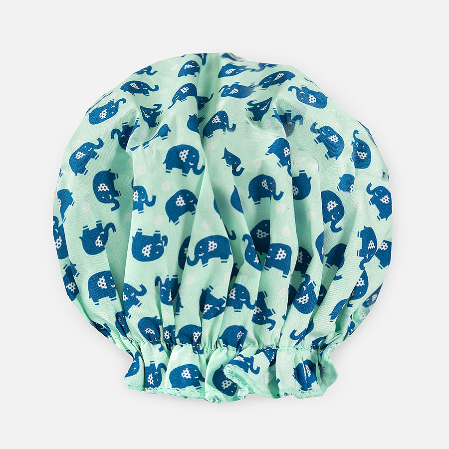 Bouffant Shower Cap - Elephants