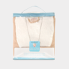 Microfiber-Lined Shawl Spa Robe