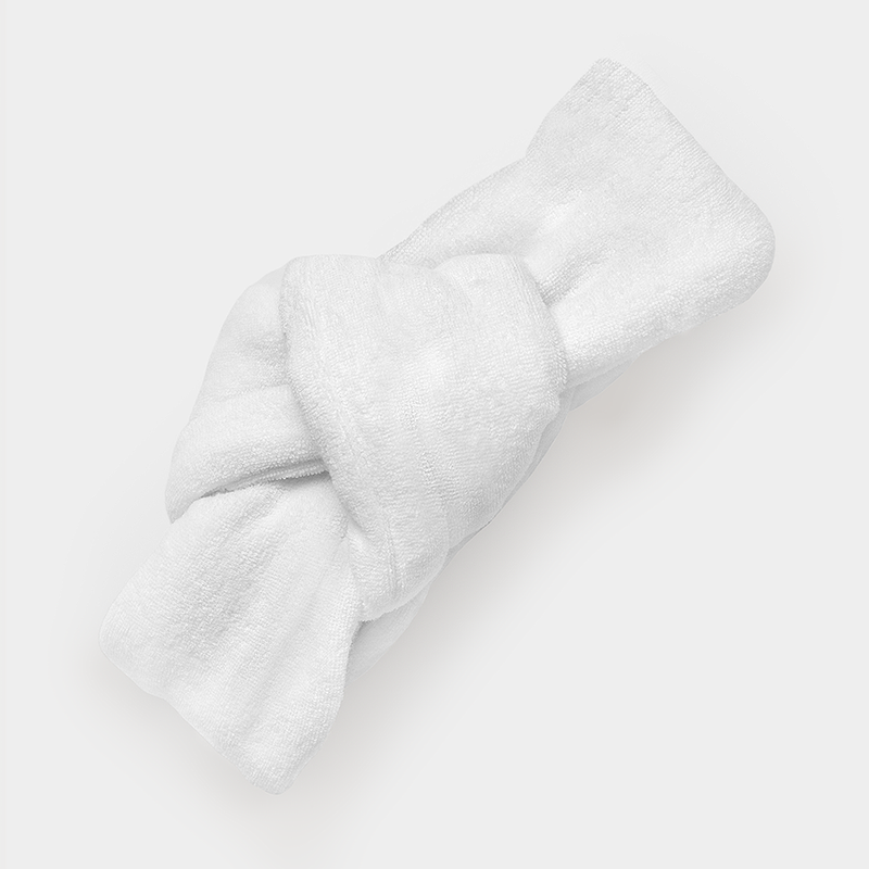Terry-Knot Spa Headbands