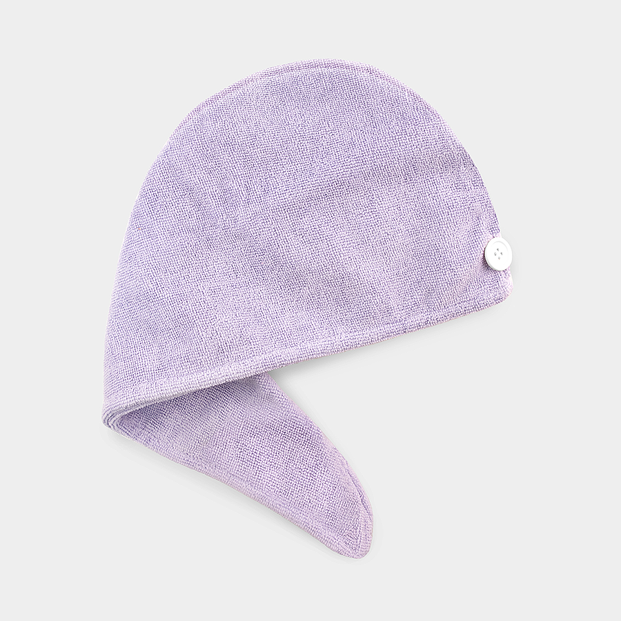 Microfiber Hair Turban Towel - Lavender