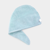 Microfiber Hair Turban Towel - Blue