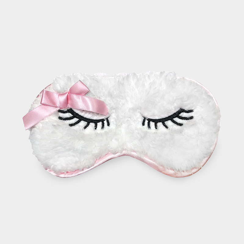 Wooly Animal Satin Eye Mask