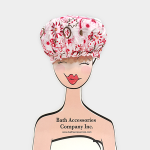 Spa Sister Merchandiser - Bouffant Shower Cap