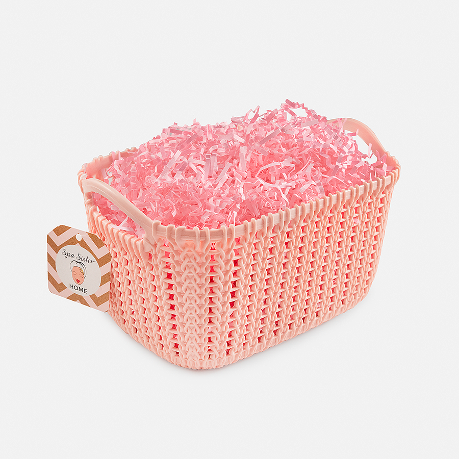 Caddy Basket - Pink<br>(FILLER NOT INCLUDED)