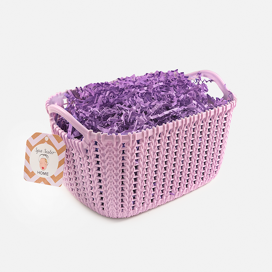 Caddy Basket - Purple<br>(FILLER NOT INCLUDED)